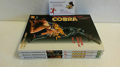 Lot Manga Cobra The Space Pirate L'Arme Absolue tome 1 à 3 Terasawa Taifu