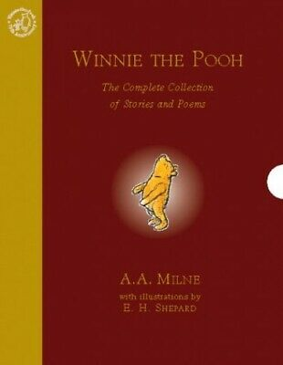 Winnie-the-Pooh: The Complete Collection of Stories ... by Milne, A. A. Hardback