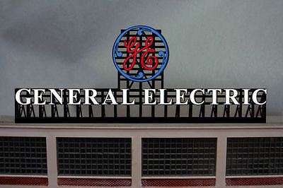 General Electric GE Animated Billboard Sign for N HO Scale Miller 2782