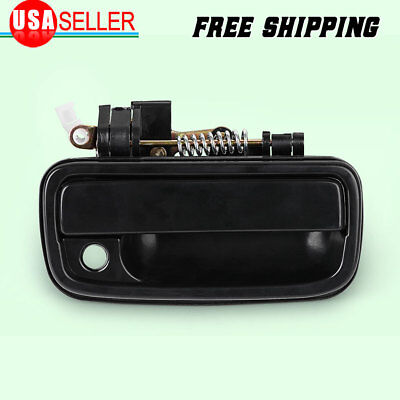 Outside Exterior Door Handle Black Front Passenger Right for 1995-2004 Tacoma