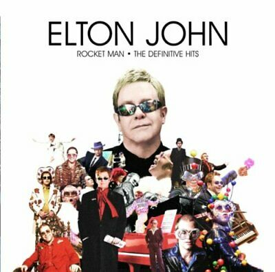 Elton John - Rocket Man: The Definitive Hits - Elton John CD NKVG The Cheap Fast