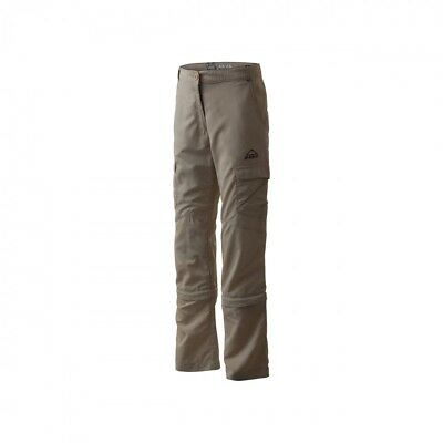 McKinley Girl Outdoor Trekking Hiking Abzipphose Riversdale brown smoke