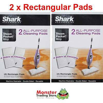 2 x STEAM MOP REPLACEMENT ALL PURPOSE CLEANING PAD SHARK S3501, S3502 S3550