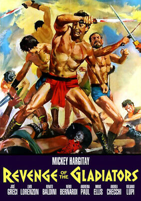 Revenge of the Gladiators [New DVD]
