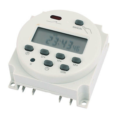 CN101A 12V DC/AC LCD Digital Electronic Programmable Timer Time Relay Switch