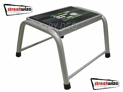 Streetwize Caravan Motorhome Boat Workshop Single Step Steel Construction