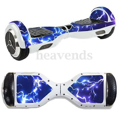 Crazy Thunder and lightning Sticker/Skin For 6.5'' Electric Hoverboard Scooter