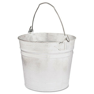Magnolia Brush Durable Long Lasting Galvanized Utility Pail Buckets 8Qt {Mnl8Qt}