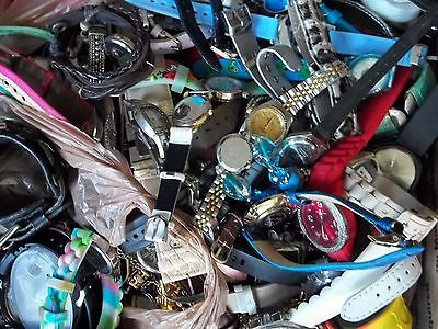 258 pc watch lot,repair,mostly batteries,some bands,good to great condition,