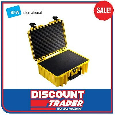 B&W International Heavy Duty Outdoor Safety Case Yellow Type 5000 - 5000YSI