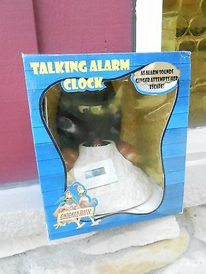 1999 GINGER Chicken Run AM/FM Radio Alarm Clock w/BOX (S2)