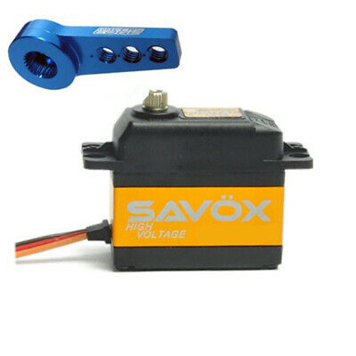 Savox SV-1270TG High Voltage Monster Torque  Digital Servo W/FREE ALUMINUM HORN