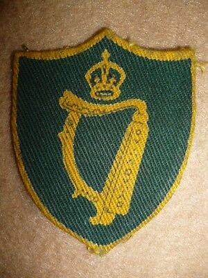Northern Ireland District Printed Formation Patch WW2 - UK