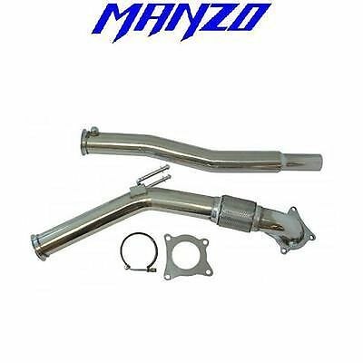 Manzo Fits 06+ Gti/Jetta/Audi A3 2.0T Fsi Only Downpipe+Test Pipe TP-123