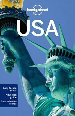 Lonely Planet USA (Travel Guide) by Zimmerman, Karla Book The Cheap Fast Free
