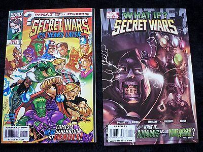 What If..? #114 Secret Wars 25 Years Later (Final Issue) & What If #1 One-Shot!