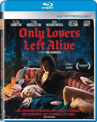 Only Lovers Left Alive [New Blu-ray] Ac-3/Dolby Digital, Dolby, Subtitled, Wid