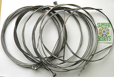 FULL INNER CABLE SET (SPEEDO CABLE - 115 cms) FOR GP,LI,SX & TV LAMBRETTA SCOOTS