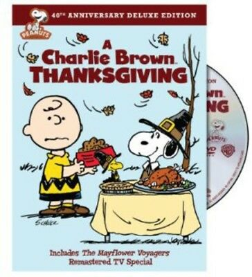 Peanuts, The Peanuts - A Charlie Brown Thanksgiving [New DVD] Anniversary Editio