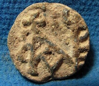 LEAD bulla Byzantine 5th-7th. cen. AD. Judea Archaeology ancient Judaea....