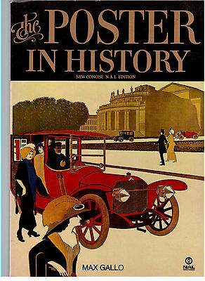 The Poster In History, Max Gallo 1975 New Concise Edition !!