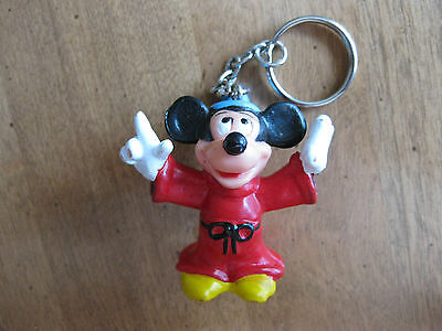 Fantasia Magician Mickey Mouse Figurine Key Ring  Key Chain