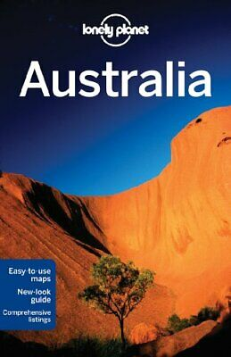 Lonely Planet Australia (Travel Guide) by Worby Book The Cheap Fast Free Post