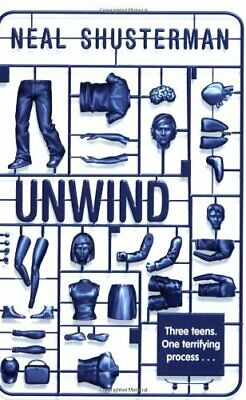 Unwind, Shusterman, Neal Paperback Book The Cheap Fast Free Post