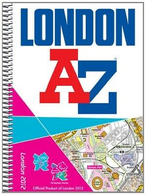London 2012 Street Atlas (London Street Atlases) by Geographers' A-Z Map Company