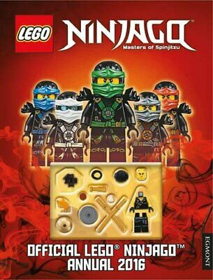 Official Lego� Ninjago Annual 2016 (Annuals 2016) by UK, Egmont Publishing Book