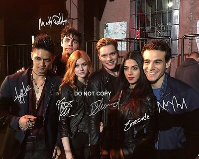 Shadowhunters Cast Reprint Signed 11x14 poster photo ALL 7 #1 Mortal Instruments