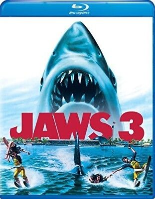 Jaws 3 [New Blu-ray] Snap Case
