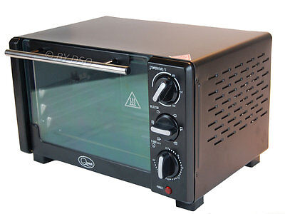 Quest 18l Mini Oven with Rotisserie 1280 Watts