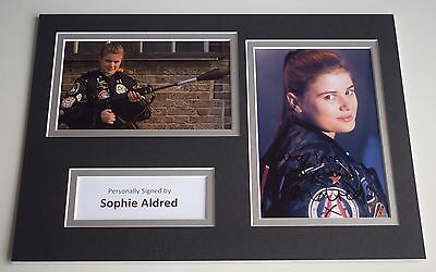 Sophie Aldred Signed Autograph A4 photo display Doctor Who AFTAL & COA