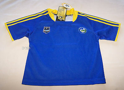 Parramatta Eels NRL Boys Blue Supporter Home Jersey Size 0 New