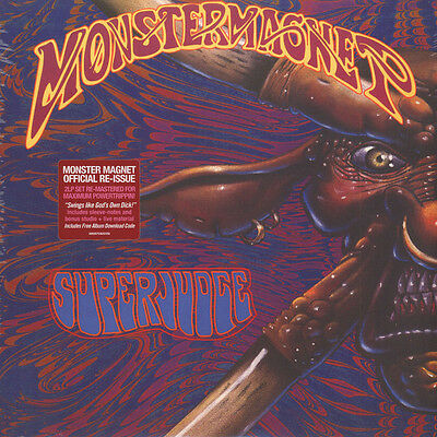 MONSTER MAGNET Superjudge 2015 re-issue vinyl 2-LP + download NEW/SEALED
