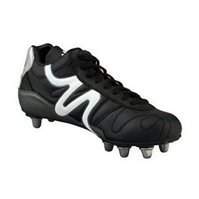 Mitre Italia II Mid Cut Soft Ground SG Rugby Boots rrp£40 Adult & Junior Sizes