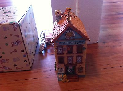 New Cherished Teddies The Town Tattler Light  1996  From Collection PM