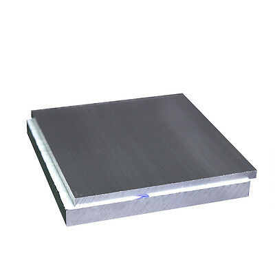 ALUMINUM 6061 Flat Bar Solid Plate Sheet 0.5-50mm Thick Any Size Cut Mill Stock