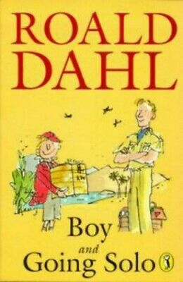 Boy: Tales of Childhood & Going Solo by Dahl, Roald Paperback Book The Cheap
