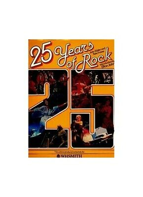 25 Years Of Rock : by Pete   Frame Book The Cheap Fast Free Post