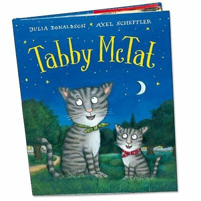 Tabby McTat, Donaldson, Julia Hardback Book The Cheap Fast Free Post
