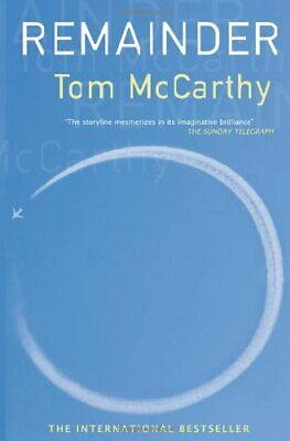 Remainder, Tom McCarthy Paperback Book The Cheap Fast Free Post