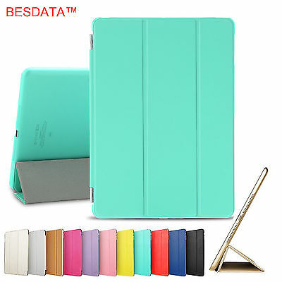 AU Smart Magnetic Leather Stand Case Cover for Apple iPad 2 3 4 Air Mini Pro