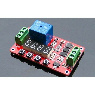 24/12/5V FRM01 Relay Cycle Timer Module PLC Home Automation Delay Multifunction