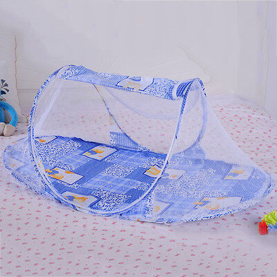 New Baby Summer Mosquito Net Infant Nursery Crib Tent Folding Cradle Bed Canopy
