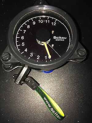 SCITSU TACHO TACHOMETER 0-12 scale Internal or 9V external available RD350 RD400