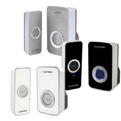 32 Chime Wireless Door Bell Cordless 100M Range Quality LLOYTRON Melody