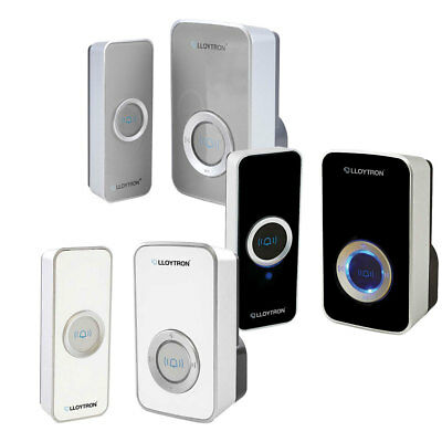 32 Chime Wireless Door Bell Cordless 150M Range Quality LLOYTRON Melody