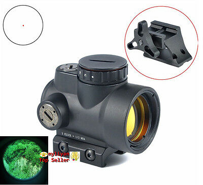 1x25 Adjustable Reflex Style MRO Red Dot Sight 2.0 MOA With High/Low Mount Black